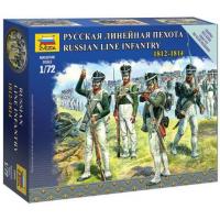 упаковка игры Русская линейная пехота 1:72
