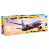 упаковка игры Боинг 787-9 Дримлайнер 1:144