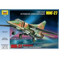 упаковка игры Бомбардировщик МиГ-27 1:72
