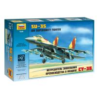 упаковка игры Истребитель Су-35 1:72