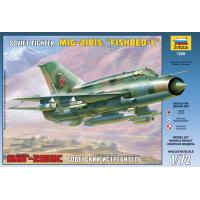 упаковка игры Истребитель МиГ-21БИС 1:72