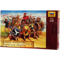 упаковка игры Греческая пехота 1:72