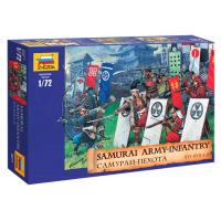 упаковка игры Самураи-пехота 1:72