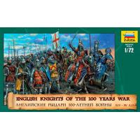 упаковка игры Английские рыцари 100-летней войны 1:72