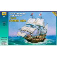 упаковка игры Корабль Золотая лань 1:200