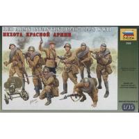упаковка игры Пехота Красной Армии 1:35