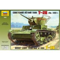упаковка игры Танк Т-26 образца 1933 г. 1:35