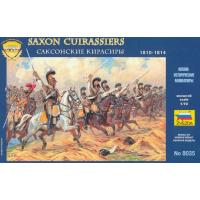 упаковка игры Саксонские кирасиры 1:72