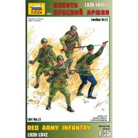 упаковка игры Пехота Красной Армии №1 1:35