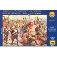 упаковка игры Французская элитная пехота Вольтижеры 1:72