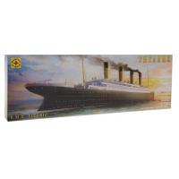 упаковка игры Лайнер Титаник 1:700