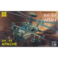 упаковка игры Ударный вертолет Apache АН-64А 1:48