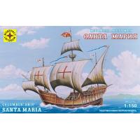упаковка игры Корабль Колумба Санта-Мария 1:150