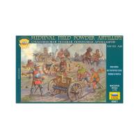 упаковка игры Средневековая полевая пороховая артиллерия 1:72
