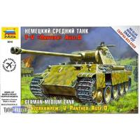 упаковка игры Немецкий средний танк Пантера T-V 1:72