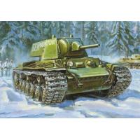 упаковка игры Танк КВ-1 с пушкой Л-11 образца 1940 г. 1:35
