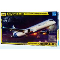 упаковка игры Аэробус А-321 1:144