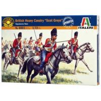 упаковка игры Солдаты  BRITISH HEAVY CAVALRY SCOT GREYS 1:72