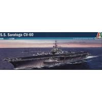 упаковка игры Авианосец U.S.S. SARATOGA CV-60 1:720