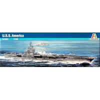 упаковка игры Авианосец U.S.S. AMERICA CV-66 1:720