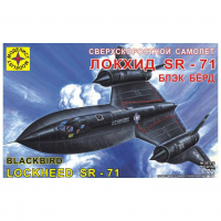 упаковка игры Самолет Локхид SR-71 Блекбёрд 1:72