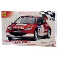 упаковка игры Автомобиль Пежо 206 WRC 1:43