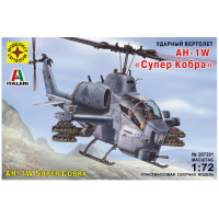 упаковка игры Вертолет AH-1W Супер Кобра 1:72