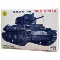 упаковка игры Немецкий танк 38(t) Прага 1:35