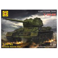 упаковка игры Советский танк Т-34-85 1:35