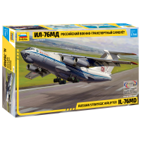 упаковка игры ИЛ-76МД Россиийский военно-транспортный самолет 1:144