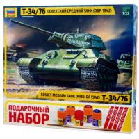 упаковка игры Т-34 1:35 подарочный набор