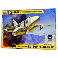 упаковка игры Самолет СУ-24М 1:72