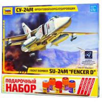 упаковка игры Самолет СУ-24М 1:72 подарочный набор