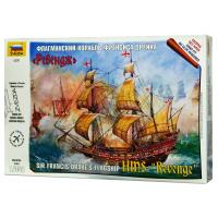 упаковка игры Английский корабль Ревендж 1:350