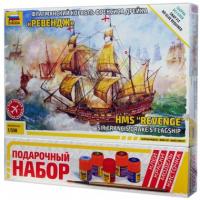упаковка игры Английский корабль Ревендж 1:350 подарочный набор