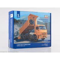 упаковка игры Самосвал KAMAZ-6540 1:43