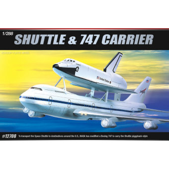 Космический корабль Space Shuttle & Jumbo 747 1:288