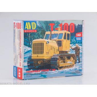 Трактор гусеничный Т-100 1:43