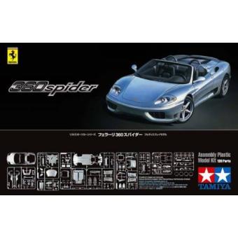Ferrari 360 Spider 1:24