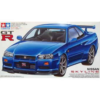 Nissan Skyline GT-R V-spec R34 1:24