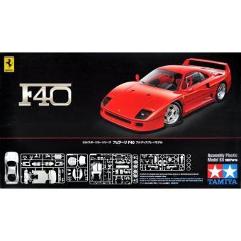 Ferrari F40 1:24