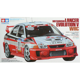 Lancer Evo.V WRC 1:24