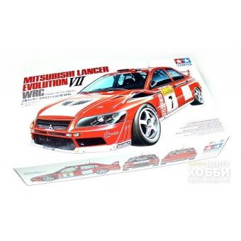 Mitsubishi Lancer Evo VII WRC 1:24