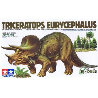 Triceratops Eurycephalus (Трицератопс) 1:35