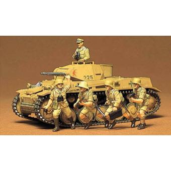 Немецкий танк Pzkpw II Ausf F/G 1:35