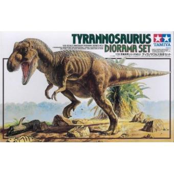 Tyrannosaurus diorama set (Тираннозавр) 1:35