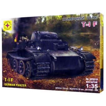 Немецкий танк T-I F 1:35