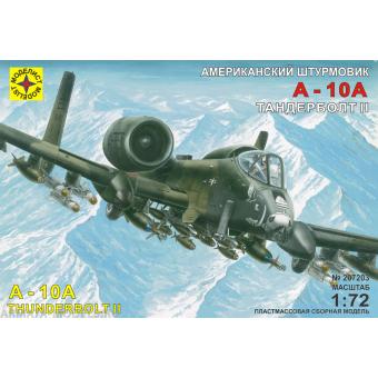 Штурмовик A-10А Тандерболт II 1:72