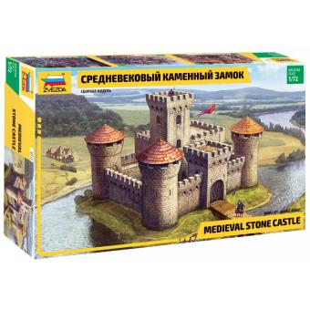 Средневековый замок 1:72