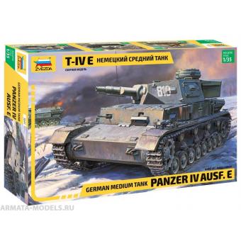Немецкий танк Т-IV E 1:35